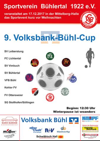 9. Volksbank Bühl Cup @ Mittelbergsporthalle, Bühlertal