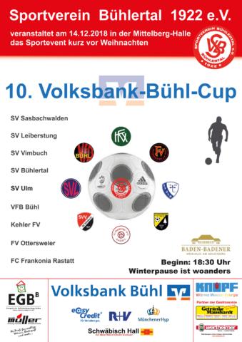10.Volksbank Bühl Cup @ Mittelberg Sporthalle, Bühlertal ( Sportzentrum )