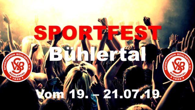 Sportfest SV Bühlertal @ Mittelbergstadion, Bühlertal